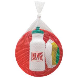 summerkit (beachaball, water bottle, frisbee