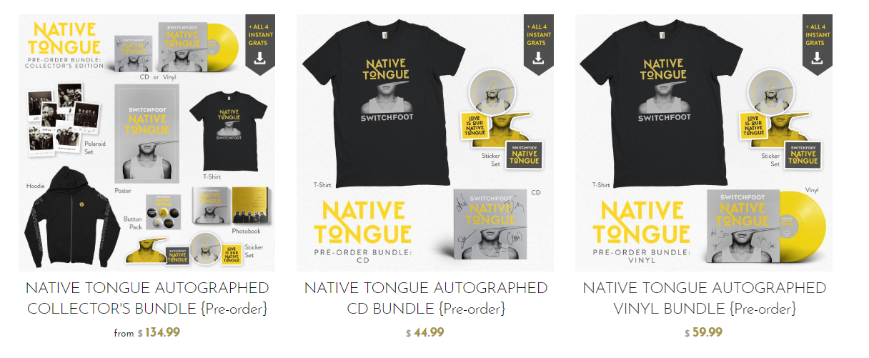 Deal Of The Week: Pre-Order Switchfoot's New Album Native
