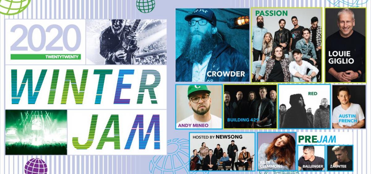 Winter Jam 2020 Tour Dates.Fan Favorite Crowder To Helm Winter Jam 2020 Freeccm Com